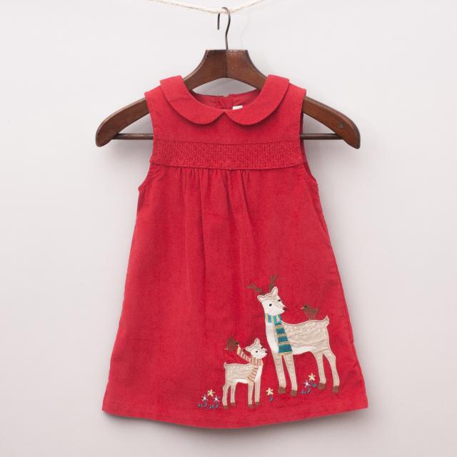 Jojo Maman Bebe Reindeer Dress
