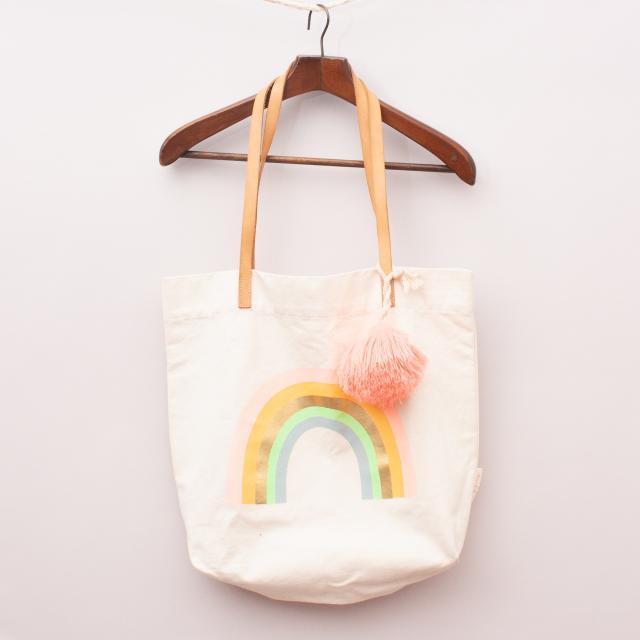 Meri Meri Rainbow Tote Bag