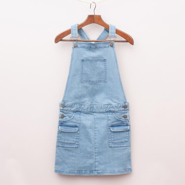 Country Road Overall Dress