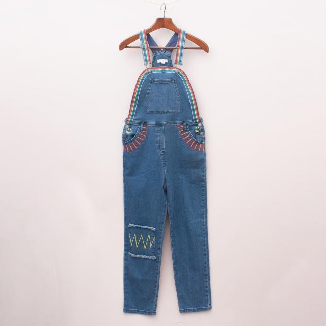 Stella McCartney Embroidered Overalls