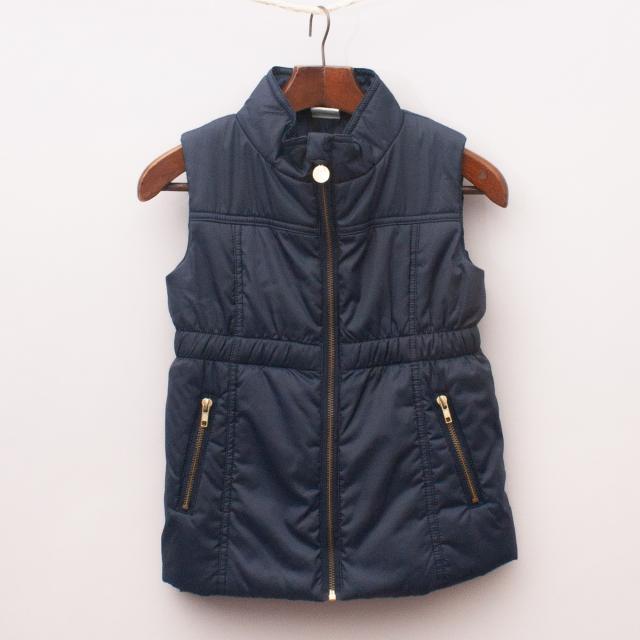 Milky Navy Blue Vest