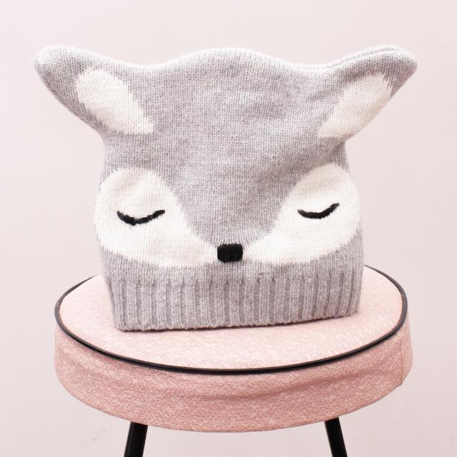 Country Road Racoon Beanie - Age 1-2 Approx.