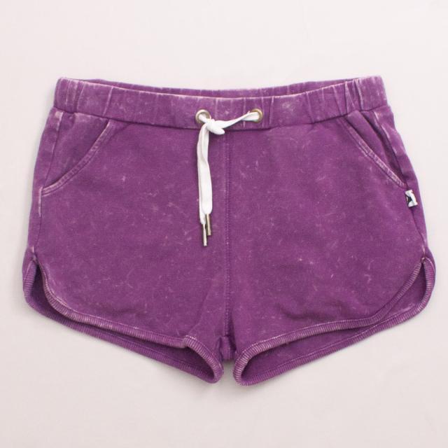 Minti Purple Shorts
