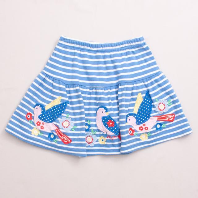 Jojo Maman Bebe Embroidered Skirt
