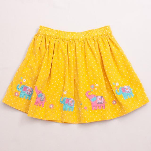 Jojo Maman Bebe Corduroy Skirt