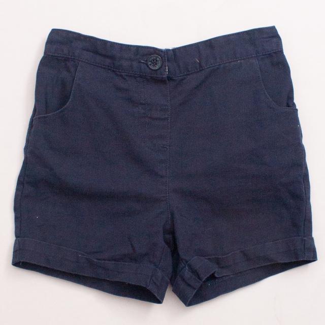 Jojo Maman Bebe Navy Shorts