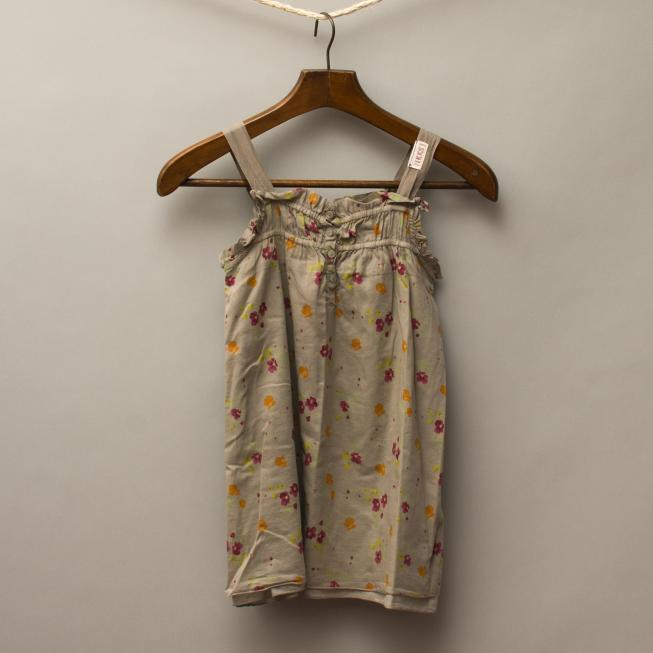 IKKS Cement & Floral Dress