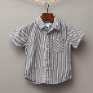 Pumpkin Patch Stripe Shirt